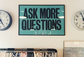 Always ask more questions, especially about skincare